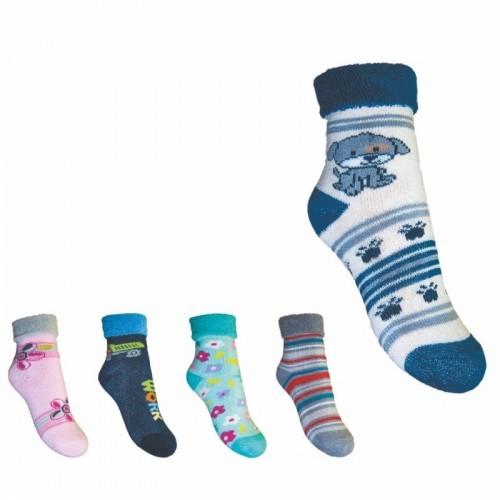 Dětské froté ponožky vel.20-22 e815e61e33