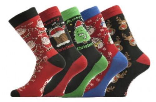 Ponožky pánské vánoční 9a2ad21890