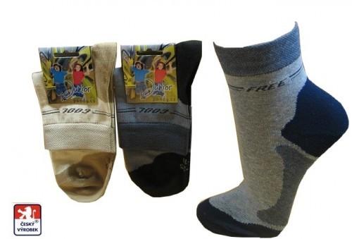 Chlapecké ponožky PONDY.CZ elastické FREE 808d675e11