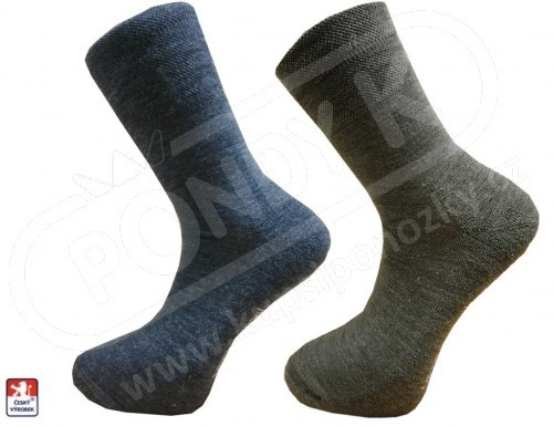 018108c765b Pánské luxusní ponožky MERINO vlna