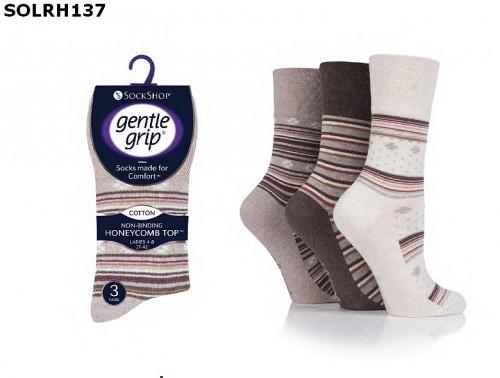 e7f5b5fe900 Dámské ponožky s nesvíravým lemem GENTLE GRIP