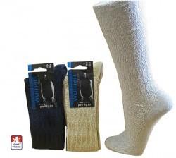 Dámské podkolenky PONDY.CZ žakrový vzor 37-41 - Ponožky dámské  fe40bcab85